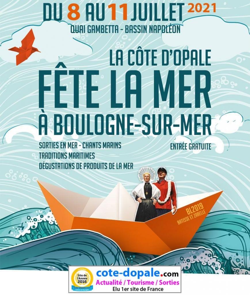 Fête de la Mer 2021, Boulogne sur Mer